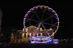 Grande roue Nîmes Noël