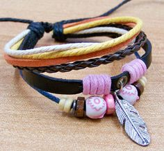personalized leather bracelet  for men womens cuff  by edwinating, $6.99