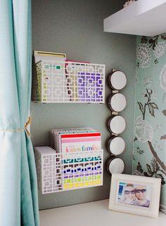 Wall creats Jennifer's Creative Closet Home Office