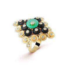 Bouton d'or ring, Gold - VCARO9MW00 - Van Cleef & Arpels