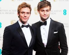 Douglas Booth and Sam Claflin #hotties