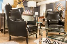 Kingston Leather Chair - Bernhardt Furniture | Luxe Home Philadelphia