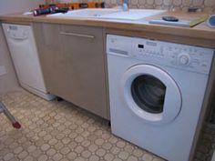 Lave-vaisselle, lave-linge, évier, à chacun sa place