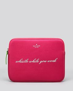 kate spade new york iPad Case - Whistle While You Work | Bloomingdale's