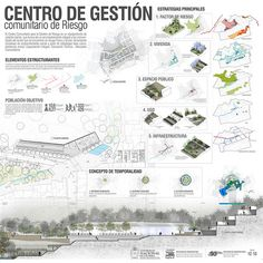 PROYECTO PLANCHA | Proceso de Proyecto en la Comuna 8 Medell… | Flickr Landscape Architecture Design, Architecture Portfolio, School Architecture, Urban Design Diagram, Visual Communication Design, Presentation Layout, Architectural Presentation, Forest Design, Collage Illustration