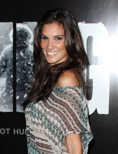 Daniela Ruahs long, layered hairstyle
