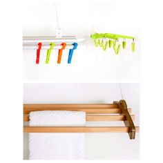 Ceiling mounted clothes drying rack for all you laundry and home decor needs  http://www.thenewclotheslinecompany.com/