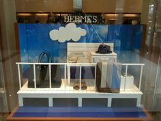 Hermes window display at Pacific Place 2013 Jakarta
