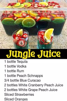 11 Easy Punch Recipes For a Crowd – Simple Party Drinks Ideas (both NonAlcoholic and With Alcohol) – Clever DIY Ideas Jungle Juice Punch Recipe. Jungle Juice Punch Recipe, Punch Recipe For A Crowd, Easy Punch Recipes, Food For A Crowd, Fruit Punch, Jungle Juice Recipes, Easy Jungle Juice, Simple Punch Recipe, Simple Jungle Juice Recipe