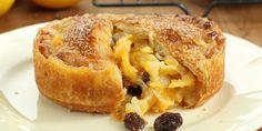 Meyer Lemon Pie with Apricot Jam