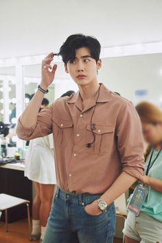 Lee jong suk variety fanmeeting update ❤❤You can find Korean actors and more on our website. Lee Joon, Korean Men, Asian Men, Korean Style, Asian Actors, Korean Actors, Lee Jong Suk Wallpaper, Ulzzang, Lee Jong Suk Cute