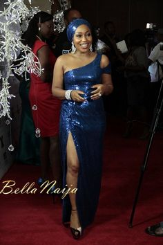 """BN Exclusive: Rita Dominic, Nike Oshinowo, Tiwa Savage, Diezani Alison-Madueke, Nse Ikpe Etim & Many More bring High Octane Glamour to the Lagos Premiere of Mildred Okwo's """"The Meeting"""" – All the Fab Photos African Dresses For Women, African Attire, African Fashion Dresses, Fabulous Dresses, Pretty Dresses, Nigerian Dress, Nigerian Bride, African Actresses, English Dress"""
