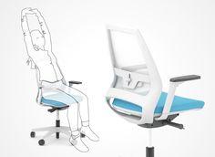 SAIL chair family | Progressive next generation mechanism | Narbutas
