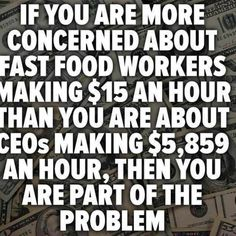The Minimum Wage must be a Living Wage.