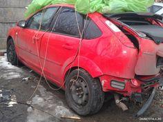 Ford Focus 1.8 TDCI 2007 Avariat (crash) de vanzare