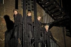 I've loved these men since I was 14. Simon LeBon makes a beard on a man look sexy. I'm giggling like a school girl again!