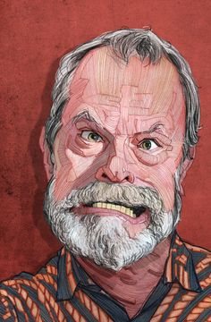 Terry Gilliam & Wes Anderson editorial illustrations by Stavros Damos  http://on.be.net/1rp9sd5