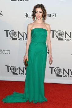 Cristin Milioti at the 2012 Tony Awards