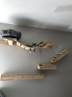 Cat Wall Shelves Diy - diy cat wall dogs d other stuff take the time to build cat shelves fun for both you and how to build cat shelves that your cat will love our new catcorner shelves and support fr Floating Cat Shelves, Diy Cat Shelves, Cat Climbing Wall, Cat Climbing Shelves, Design Diy, Diy Cat Tower, Cat Wall Furniture, Cat House Diy, Cat Bedroom