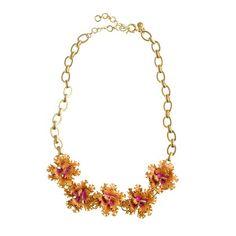 J. Crew Carnation Necklace
