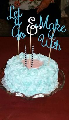 Frozen Inspired Birthday Cake Topper By TheLuckyPineapple On Etsy