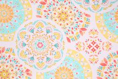 Medallion Prints :: Richloom Catamarca Printed Cotton Drapery Fabric in Sunny $8.95 per yard - Fabric Guru.com: Fabric, Discount Fabric, Upholstery Fabric, Drapery Fabric, Fabric Remnants, wholesale fabric, fabrics, fabricguru, fabricguru.com, Waverly, P. Kaufmann, Schumacher, Robert Allen, Bloomcraft, Laura Ashley, Kravet, Greeff