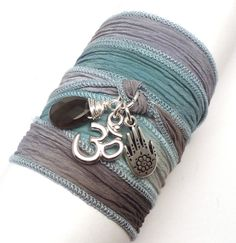 love this wrap bracelet - ooh so much!