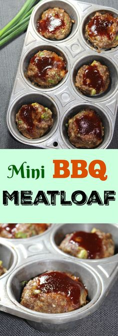 These flavorful Mini BBQ Meat Loaves are a household favorite of mine. They make great leftovers and easy to bake for either an appetizer or dinner for the family. You can double or tripe the recipe for a bigger, hungrier crowd.