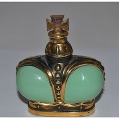Vintage Windsong Crown Perfume Bottle By Prince Matchabelli