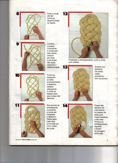 Diy Crafts - -Carpet Runners At Home Depot CarpetRunnersCutToSize Key: 8411107144 Jute Crafts, Diy And Crafts, Arts And Crafts, Sisal, Rope Rug, Rope Decor, Crochet Table Runner, Diy Carpet, Cheap Carpet