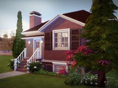 Welcome to Pinebrooke House! This 2 bedrooms 1.5 bathrooms home can be your Sims' first property! Small and cozy, it has all the necessary items to accommodate a small family. It also features a...