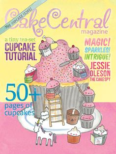 Cake Central magazine's May cover!