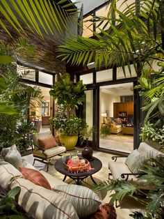 Atrium Design brings together indoor and outdoor living and allows privacy and more natural light
