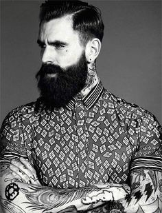 #INK This guy <---he gets pinned for the fierce beard!!