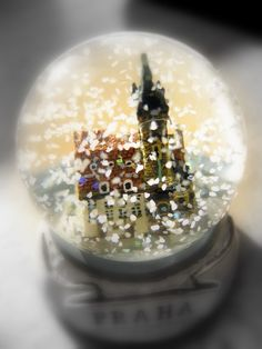 I would like a snow globe for eighther my birthday or Christmas love them! :)