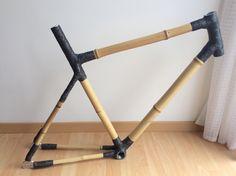Bamboo bike frame - bamboo - carbon - - handmade bike