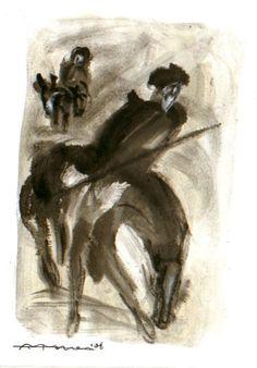 Don Quixote ,by Harlequinpan