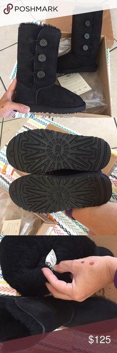 UGG AUTHENTIC kids triple button tall boots Sz 13 UGG AUTHENTIC kids triple button tall boots Sz 13 NEW 100% authentic closetitem#7cinc Shoes Boots