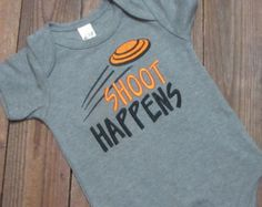 shoot happens embroidered shirt . skeet shooting embroidered shirt - Embroidered shirt