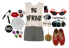"""""""Untitled #2524"""" by kitten89 ❤ liked on Polyvore featuring Skinnydip, Vans, Motel, Stephen Dweck, Lime Crime and Lancôme"""