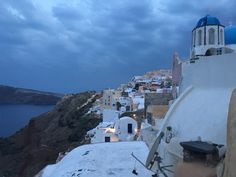 CITY GUIDE: GREEK ISLANDS: Here's Santorini at Night in Oia....