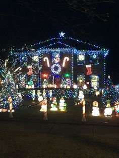 crazy christmas lights in naperville.