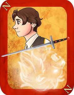 Neville Longbottom Playing Card by imaginativeink