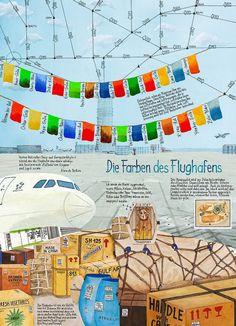 """Willy Puchner """"Die Farben des Flughafens""""  Siehe auch: www.willypuchner.com"""