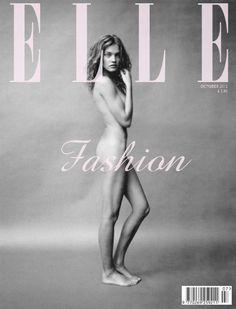 Natalia Vodianova: Elle cover, The Fashion Spot
