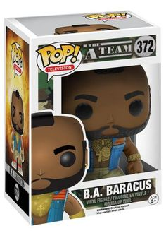 B.A. Baracus Vinyl Figure 372 - Funko Pop! van The A-Team