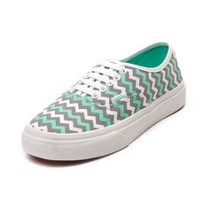 Shop for Vans Authentic Slim Skate Shoe in Mint Gray at Journeys Shoes.