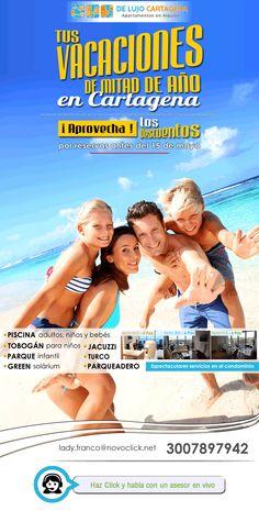 Jacuzzi, Mail Marketing, Movies, Movie Posters, Swiming Pool, Playgrounds, Condos, Cartagena, Vacations
