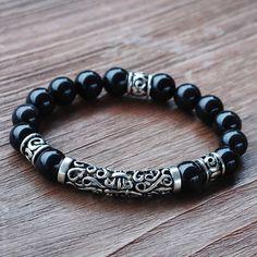 Handmade Custom Design Tibetan Male Bracelet with by DiyNotion, $38.00