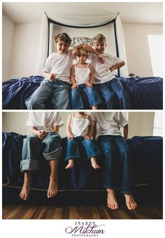 Lifestyle session | family photo session in the home